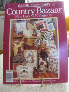 McCALL'S CREATIVE CRAFT IDEAS from the '80's with 150 EASY PROJE