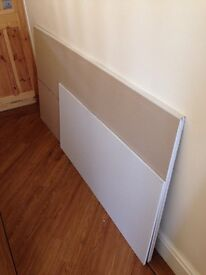 "Plasterboard for sale. 71"" X 35"" two pieces and a smaller board 48"" X 24"" brand new."