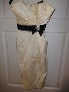 Le Chateau Formal Strapless Dress