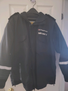 Commissioner security clothing