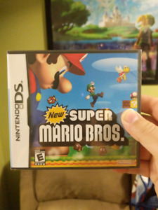 Selling new super marios DS sealed !