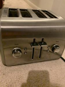 KitchenAid four slice toaster