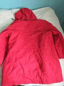 Brand New Womens Red Rain Jacket Size L London Ontario image 4