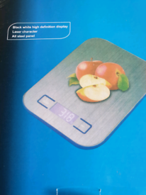 BRAND NEW kitchen scales with battery