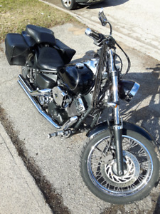 motorcycle 2006 650 Yamaha Vstar Custom