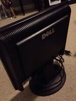 "Dell 14"" computer screen mint condition with dvi cord"