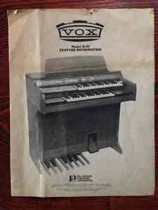 VOX organ - vintage tones! Cambridge Kitchener Area image 5