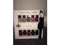 OPI nail polish set