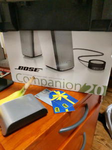 Bose companion 20 brand new sealed speakers
