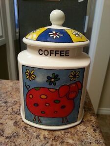 Coffee Cannister - Arthur Wood - NEW