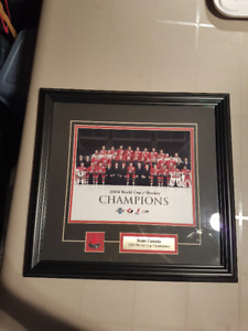 Team Canada Framed Picture 2004 World Cup of Hockey Championship
