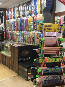 All your Skateboard and longboard needs covered