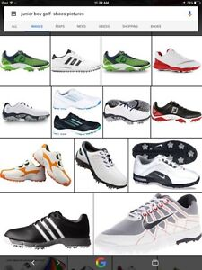 Boys golf shoes