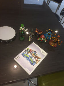 Skylanders SwapForce set.  For WII