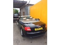 A4 1.8TURBO cabriolet FULL LEATHER
