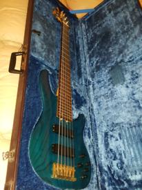 Yamaha TRB 6 -II Electric Bass Guitar (JAPAN + Hard Case)