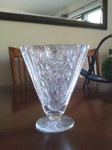 Vase de crystal Pinwheel