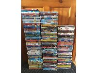 160 dvd's including kids and Disney