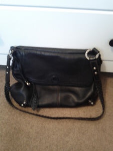 Navy leather bag. Excellent condition. Brighton.