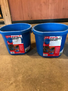 Heated Buckets - $35/each