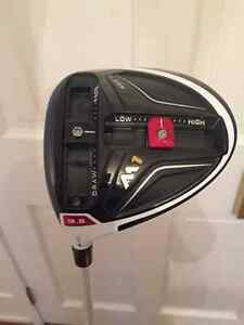 TAYLOR MADE LH M1 DRIVER 9.5 DEGREES - MINT!