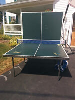 Harvard tennis table with a Yasaka Swift Net & Post