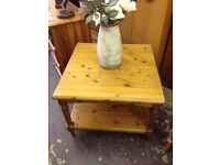 Ducal solid pine square coffee table