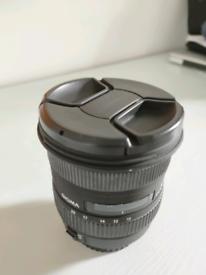 Sigma 10-20mm f4-5.6 Canon EF-S