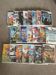Selection on wii games need to sell moving