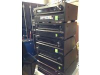 Job lot of 5 Working Onkyo HDMI Receivers NR838 Great Resell Opportunity