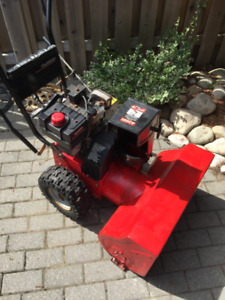 Murray built 2 stage snow blower