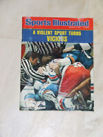 1975 Sports Illustrated magazine: Violence in Hockey