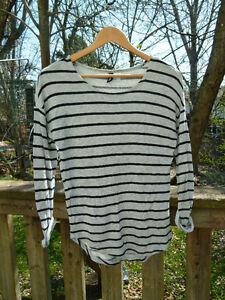 Comfortable striped shirt from H&M