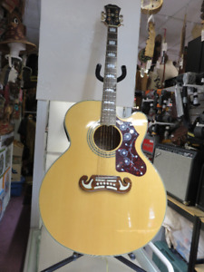 Epiphone Acoustic Guitar w/hard shell case