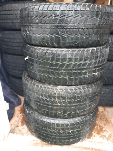 205/55/16 winter tires on rims $200