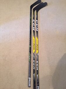 2 Brand New CCM Pro Stock Super Tacks Hockey Stick