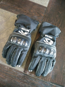 Gants de moto waterproof