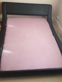 Double Bed + Memory Foam Mattress