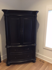 BEAUTIFUL SOLID WOOD ARMOIRE MADE IN USA $3000 OFF ORIGINAL