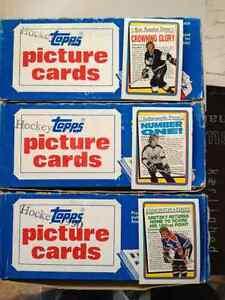 Cartes hockey Topps 1990