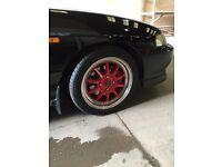 "Rota gt3 alloy wheels 16"" 4x114 integra"