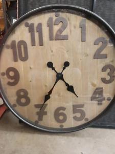 """Large 23"""" wall clock for sale  Calgary"""