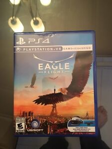 Eagle flight PlayStation vr game
