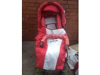 Travel system. In good condition