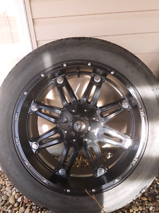 Fuel Hostage 22x9 8x6.5 bolt pattern