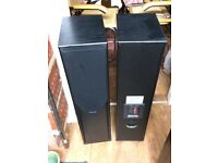 Pair of mission 733i floor standing speakers