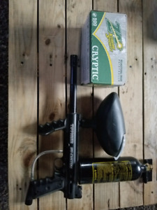 Fusil paintball tippman