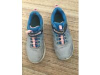 Girls sketchers trainers size 2.5