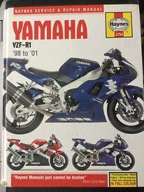 Haynes manual for R1