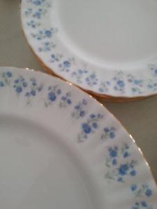 """Royal Albert China Dishes """"Memory Lane Pattern"""""""